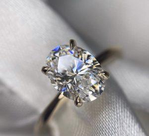 Oval Cut Diamond Shape - Mahabir Danwar Jewellers
