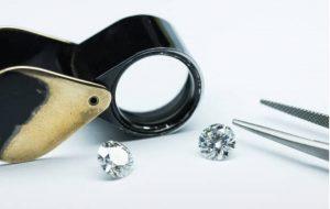 Diamond testing tool