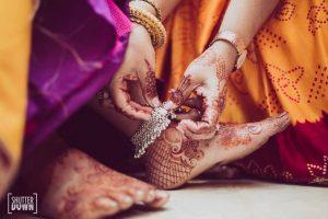 Pajeb in punjabi Wedding