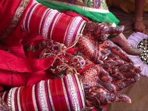 Red Chura -Punjabi Jewellery