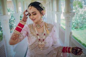 Punjabi jewellery images - Choker and Rani Haar