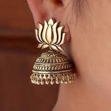 Lotus Earing
